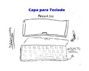 Capa de Teclado