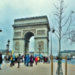 Arco do Triunfo, Paris, França(1)