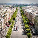 Avenida Champs Élysées, Paris. França