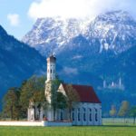 Igreja de St Coloman, Bavaria, Alemanha