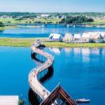 Ilha Pays de la Sagouine, Bouctouche, New Brunswick, Canada