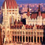 O Parlamento , Budapeste, Hungria