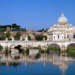 O Vaticano em Roma , Itália