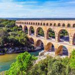 Ponte do Gard, Rio Gard, França