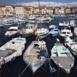 Rovigno Harbor, Croatia